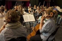 Orchestre symphonique du Conservatoire TPM © Hortense Hébrard TPM