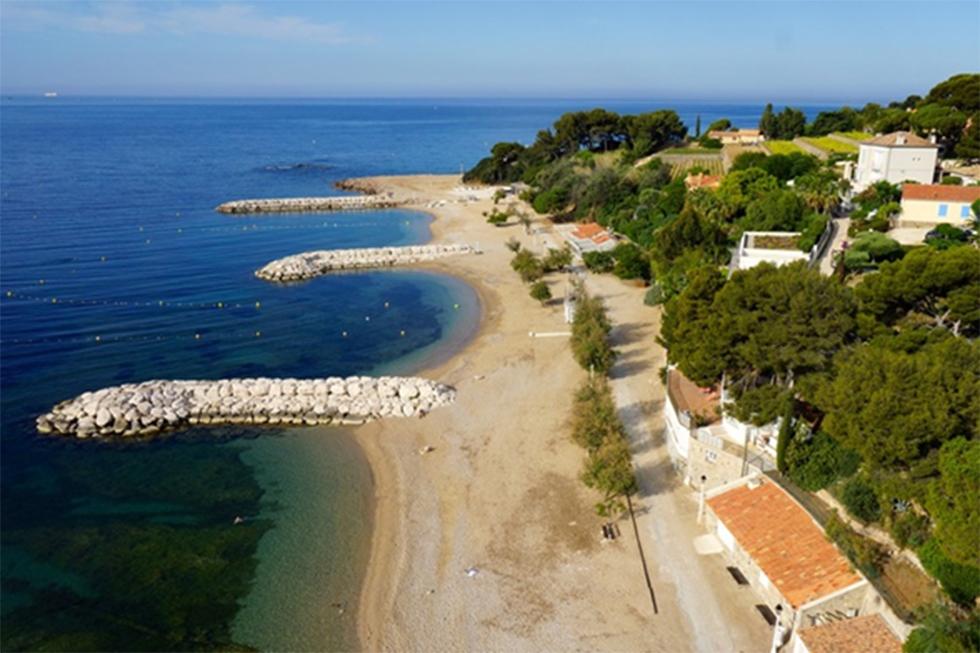 Avis D Enquete Publique Sur Le Projet De Concession De La Plage Artificielle De Peno De Carqueiranne Metropole Toulon Provence Mediterranee