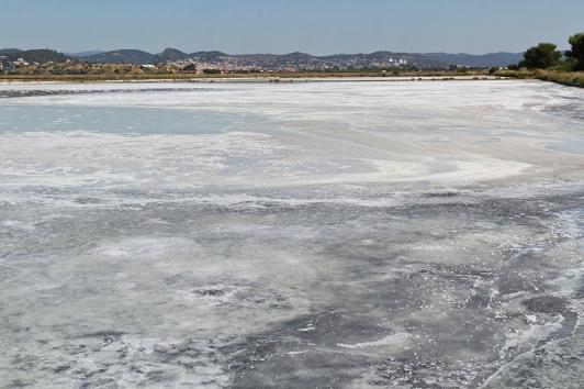 Les salins : mise en sel