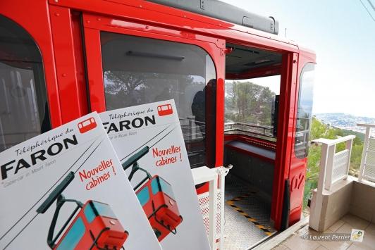 Inauguration des nouvelles cabines du téléphérique