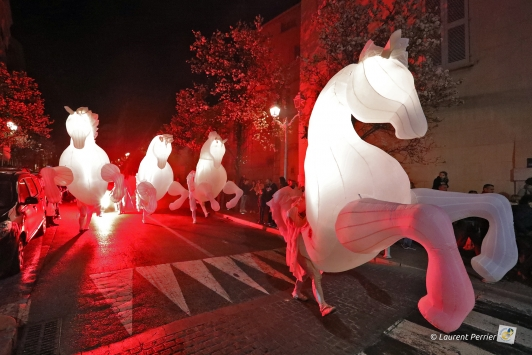 FierS à cheval vendredi soir en centre-ville