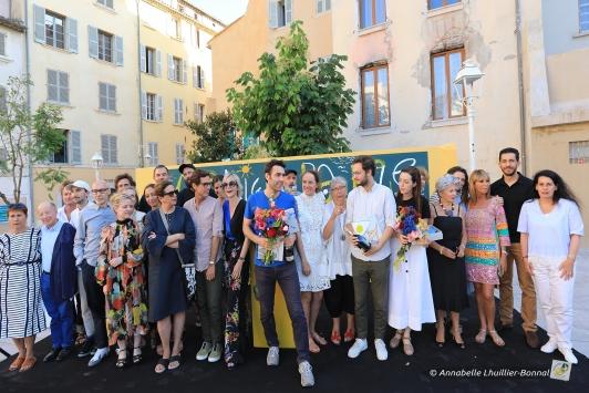 Remise des prix du concours DP Toulon samedi soir place de l'Equerre