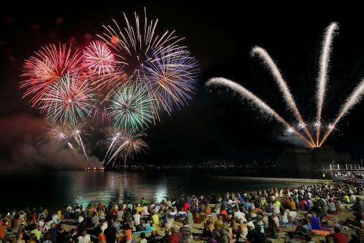 Feu d'artifice du 15 août de la Ville de Toulon