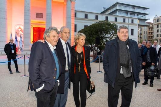 Inauguration de Chalucet