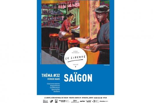 Affiche Théma #32 Saïgon