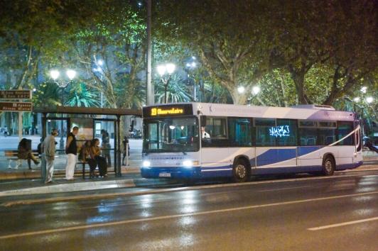 Bus de nuit du réseau Mistral