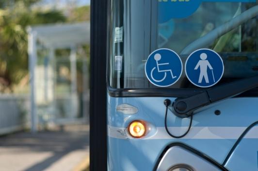 Bus Réseau Mistral accessible aux PMR