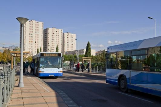 Bus de La Seyne-sur-Mer, voies réservées
