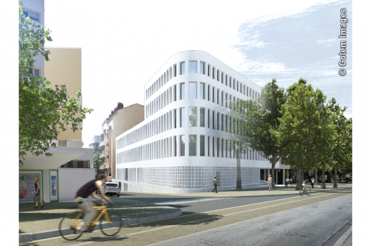 Les bureaux du Conseil départemental du Var, rue Vincent Allègre