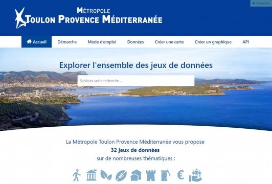 Open Data Métropole TPM