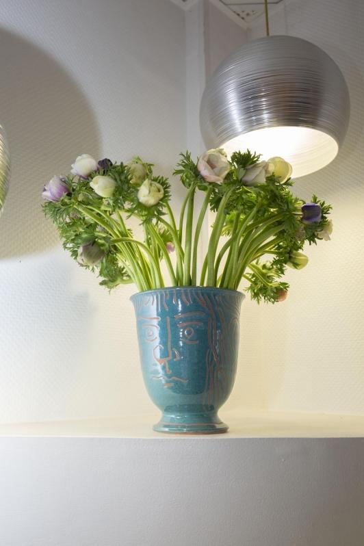 Prototype d'un vase Ravel réalisé par Matthieu Cossé