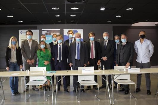Acteurs du territoire - Lancement de la SAS Hynomed - Hydrogène vert