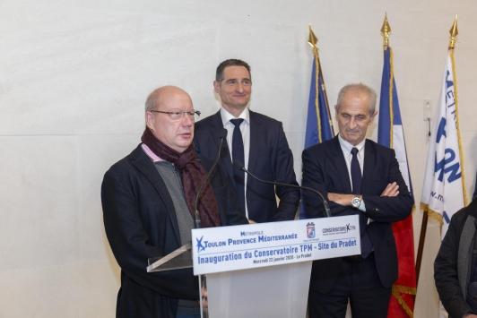 Jean-Louis Maes, directeur général du Conservatoire TPM - Site du Pradet