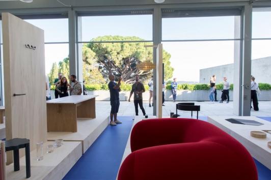 """Exposition """"10 years"""" du designer et président du jury DP Hyères Philippe Malouin"""