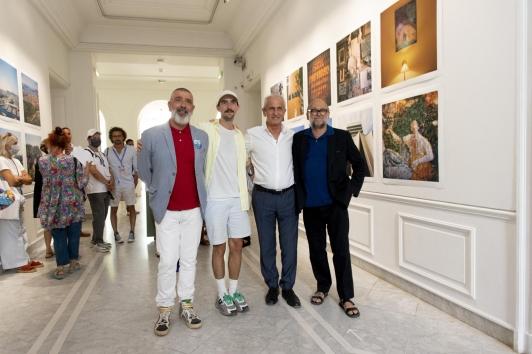 Jean-Pierre Blanc, Alexandre Benjamin Navet, Hubert Falco et François Halard