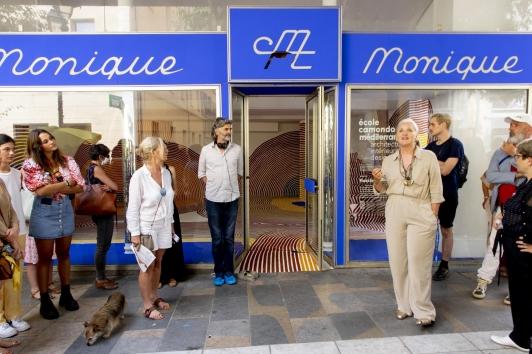 L'école Camondo Méditerranée expose à Monique Boutique cours Lafayette