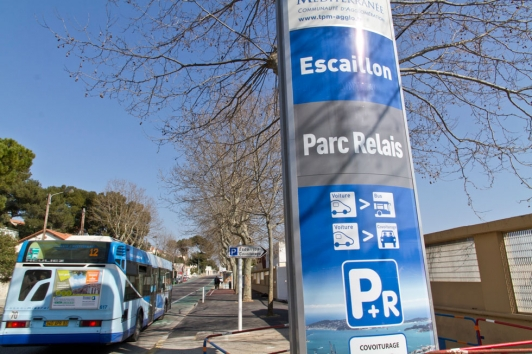Parking covoiturage Escaillon
