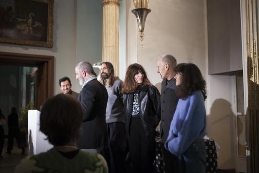 Présentation des membres du jury Mode, 33e Festival International de Mode, Photographie et d'Accessoire de mode à Hyères