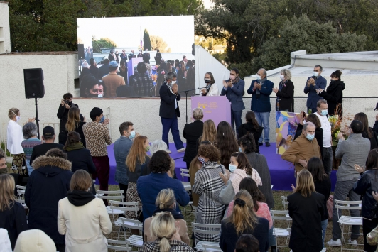 Inauguration J-P Blanc- 35e festival Villa Noailles