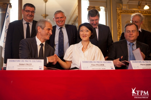 Signature du Pacte Culturel - Fleur Pellerin