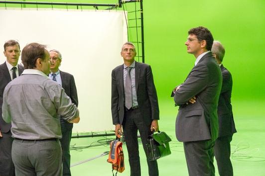 Télomédia, 400 m2 de plateau de tournage