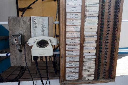 Mir : Systèmes de communication