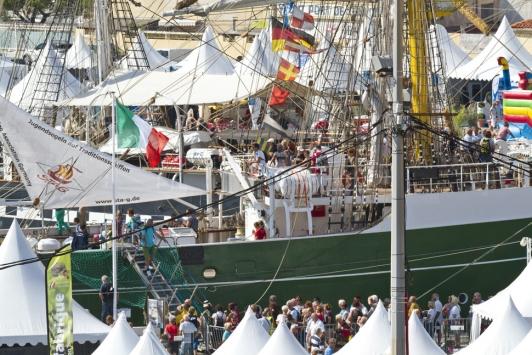 TSR : visite des bateaux