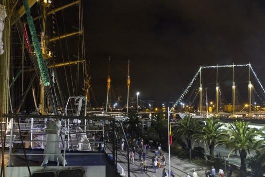 Les grands voiliers de nuit