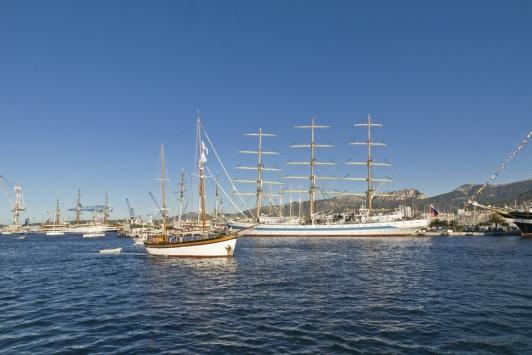 Manoeuvres dans le port