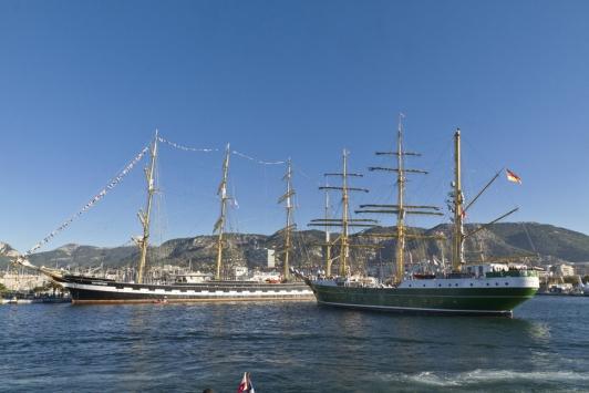 Manoeuvre de l'Alexander Von Humboldt II