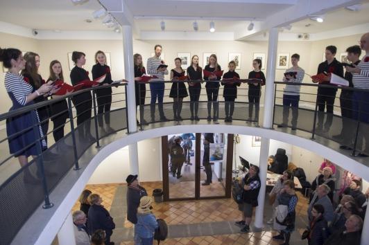 Concert des Voix animées et des élèves du Conservatoire TPM à la Maison de la photo