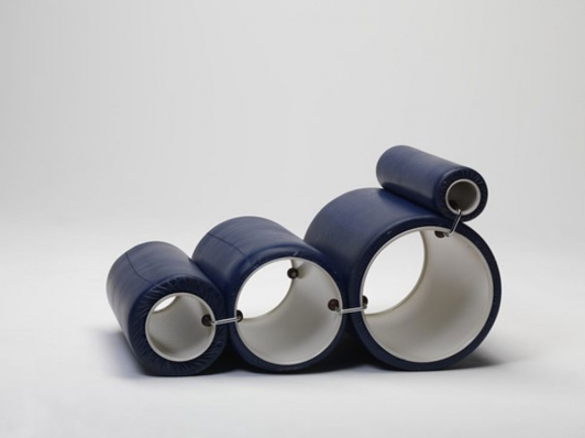 Joe Colombo, Fauteuil « Tubo », 1969, Collections du MNAM/CCi
