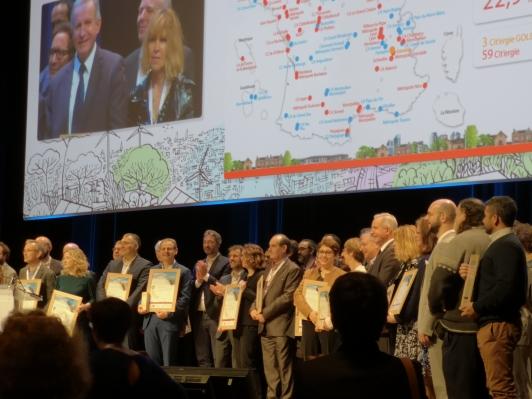Remise du Label Cit'ergie, aux assises de la Transition Énergétique, le 30 janvier à Bordeaux