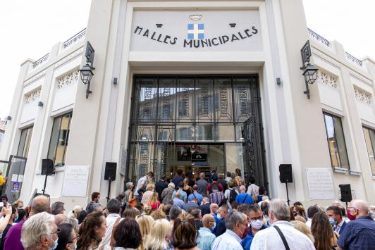 Inauguration des Halles de Toulon vendredi 10 septembre