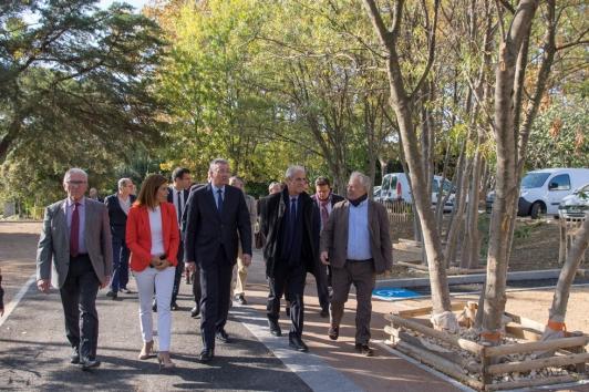 Inauguration du Parc Relais Tamaris