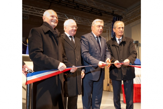 Inauguration du second tube le 27 février