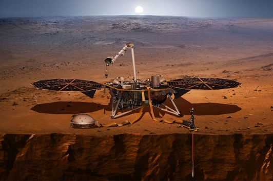 La sonde InSight de la NASA