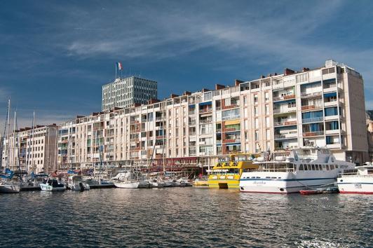 La frontale Port de Toulon