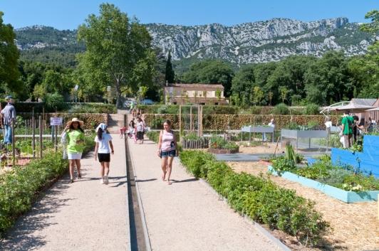 La valette, jardin de Baudouvin © Olivier Pastor