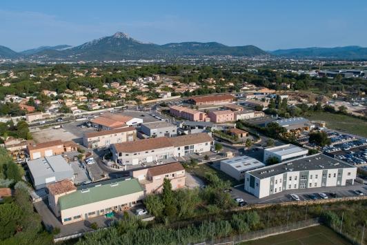 Zones d'activités de La Crau - crédit Alti150