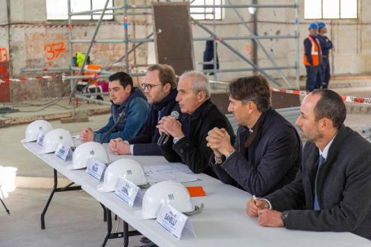 Conférence de presse Halles de Toulon