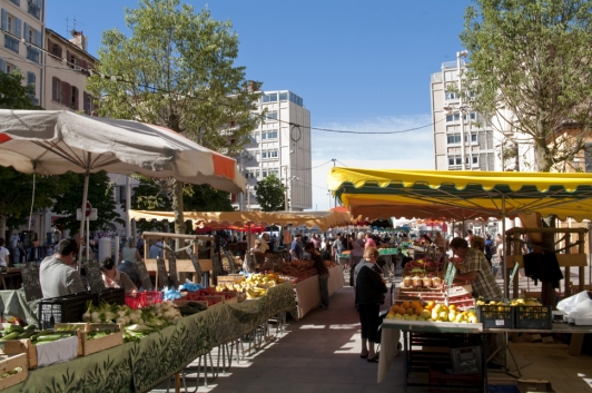 Marché du Cour Lafayette - Toulon