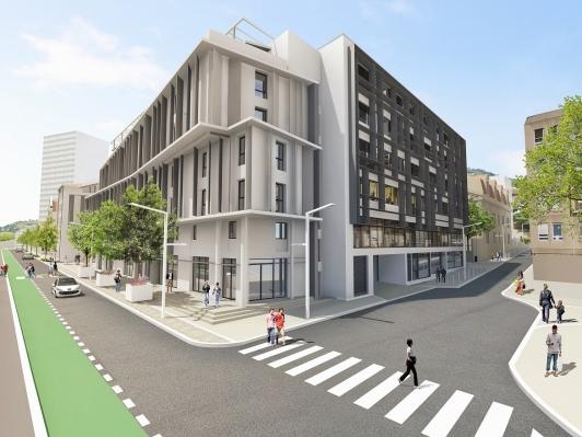 Quartier Montety - vue du projet (non contractuelle)