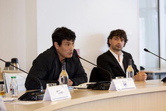 Christophe GULIZZI et Thierry AMI, architectes de l'IFPVPS