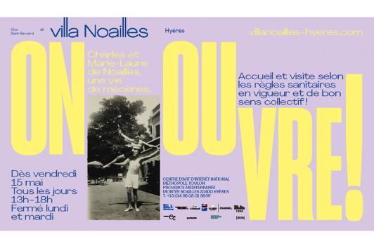 Ouverture Villa Noailles