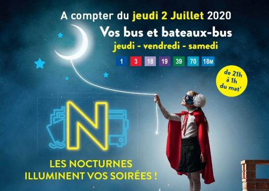 Nocturnes 2020 - réseau Mistral