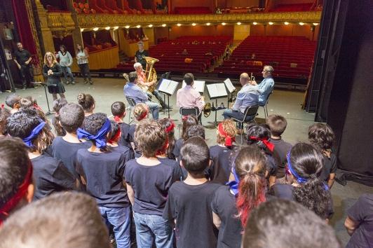Printemps des jeunes à l'Opéra - Cuivres
