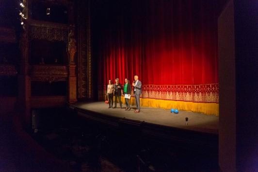 Scène de l'Opéra