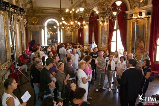 Journées du patrimoine à l'Opéra
