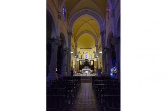 L'orgue destiné au Conservatoire TPM dans l'église du Mourillon